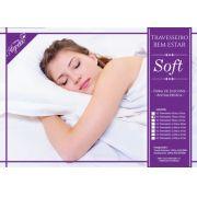 Kit Travesseiros Soft Fibra Siliconizada Antialergica - 4 Unidades