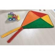 Tapete Infantil formato Pipa 82cm x 74cm