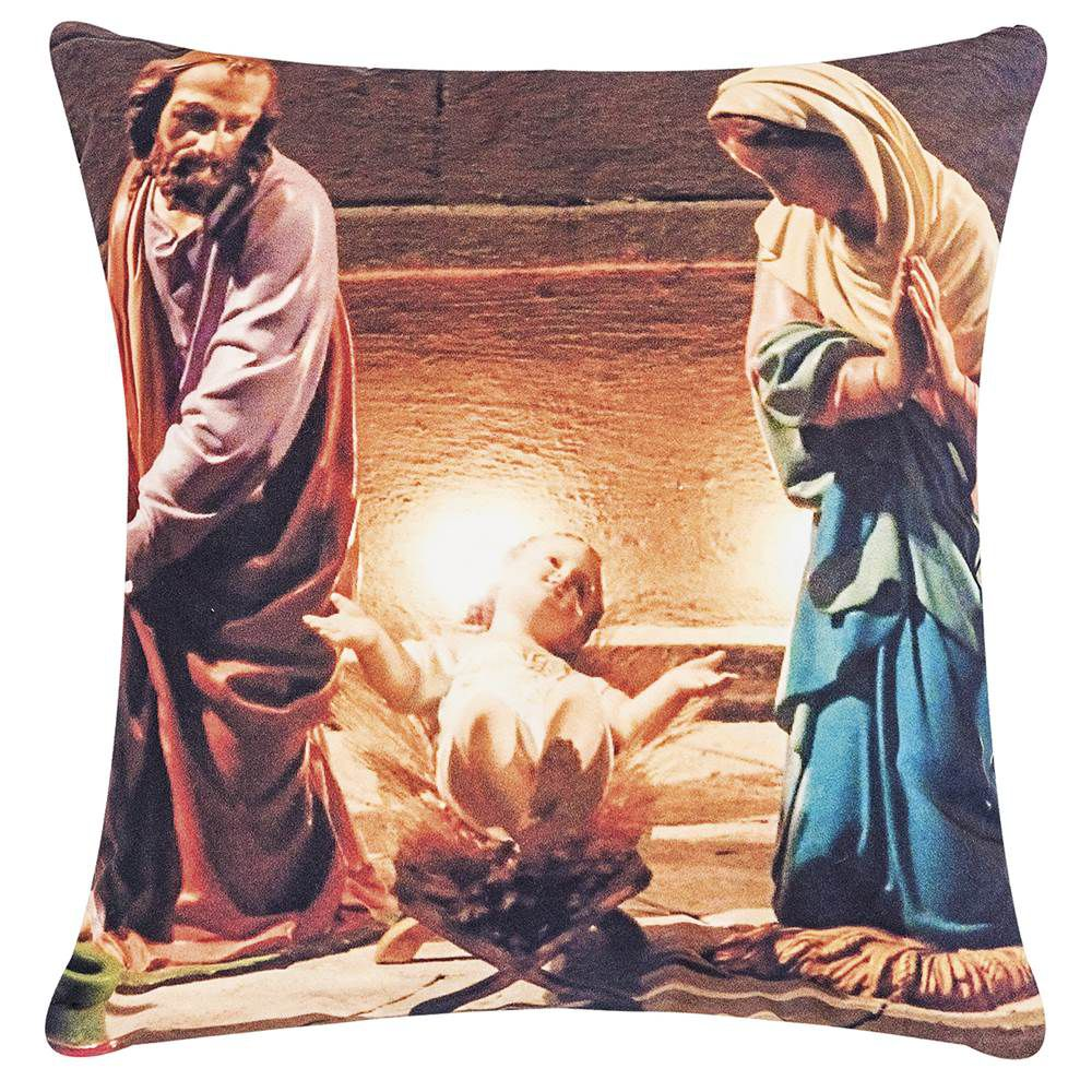 Almofada Estampa Digital Fantasy 48cm x 48cm - Menino Jesus