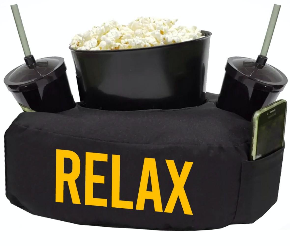 Cobre Leito Maxx Cinema Casal 9 peças - Amarelo