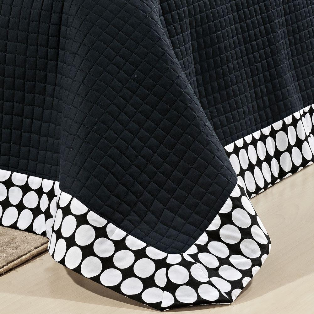 Kit Cobre Leito Queen Matelassê Algodão Percal 200 Fios - Dijon 6 Peças