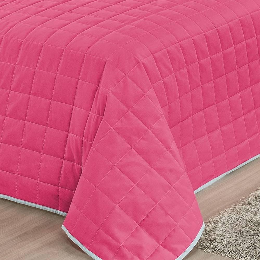 Cobre Leito Solteiro Unicórnio 4 Peças - Pink