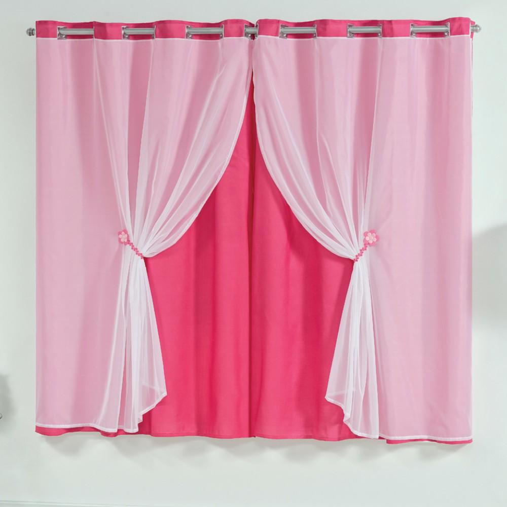 Cortina Maya 2,40m x 1,70m - Pink