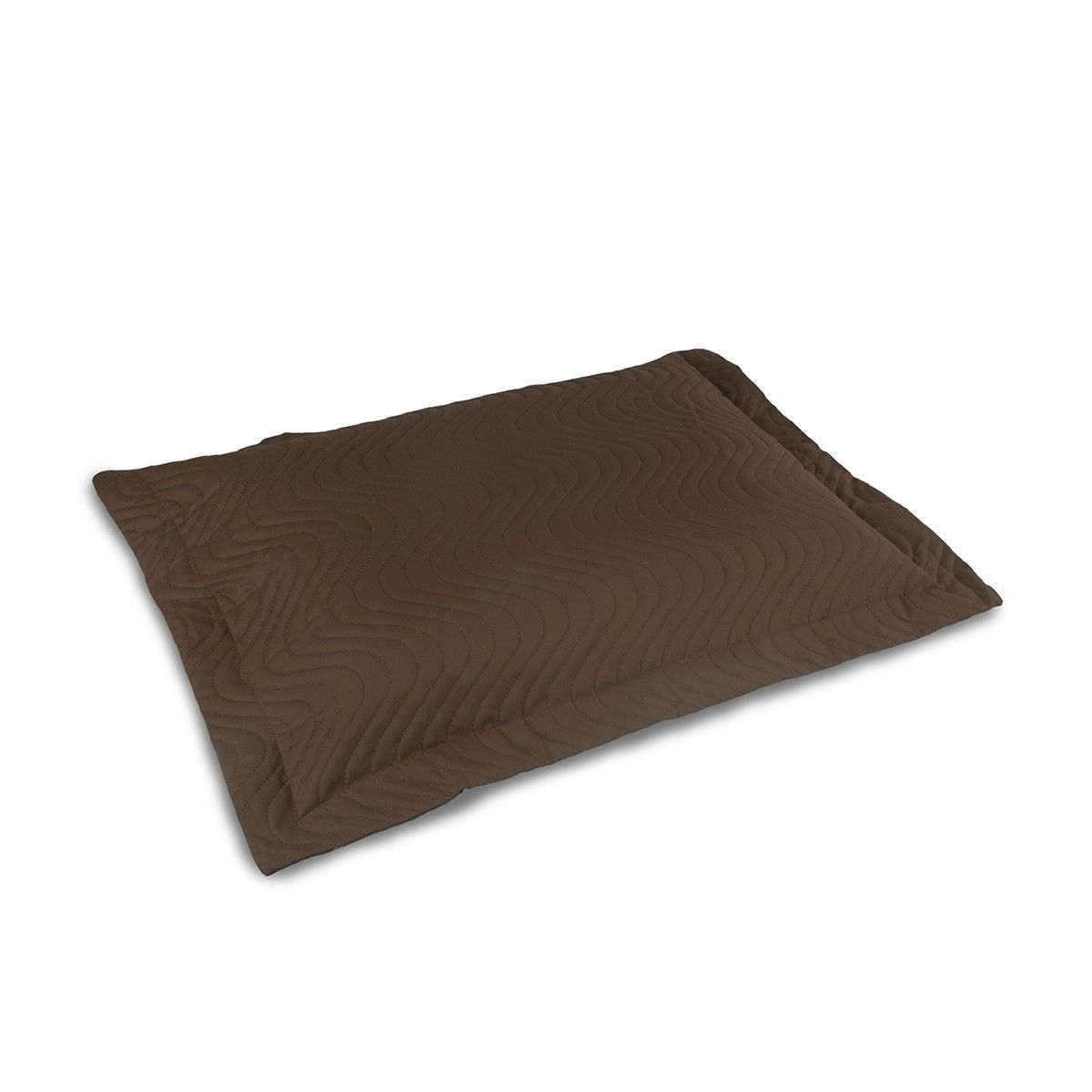 Porta Travesseiro Avulso Matelassado 180 Fios - Tabaco