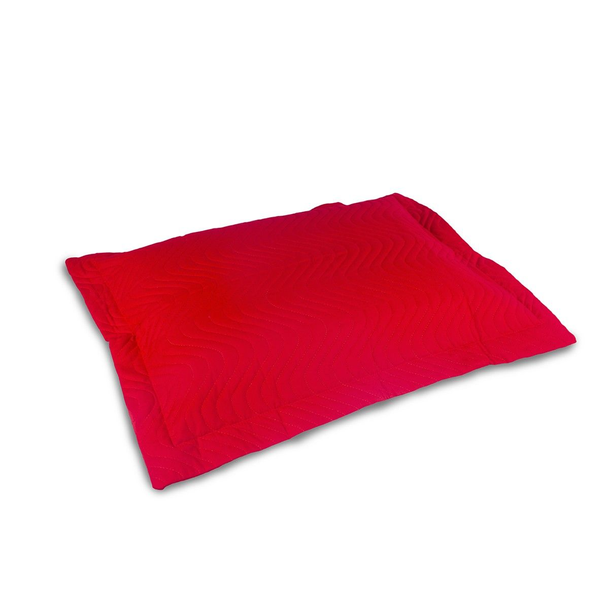 Porta Travesseiro Avulso Matelassado 180 Fios - Vermelho