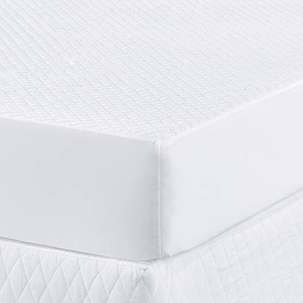 Protetor para Colchão Casal Padrão Impermeável - Branco