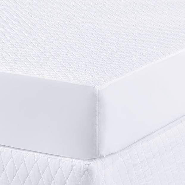 Protetor para Colchão Solteiro Impermeável - Branco