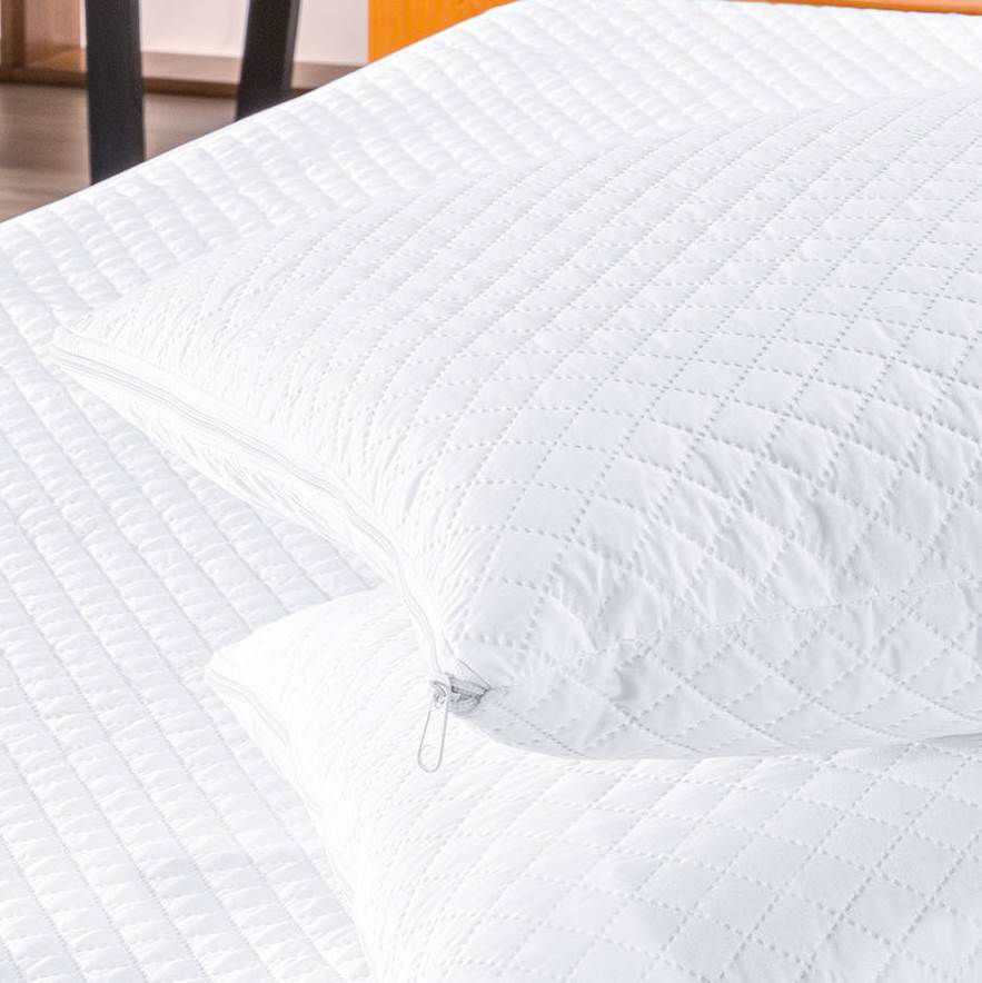 Protetor para Travesseiro Impermeável - Branco