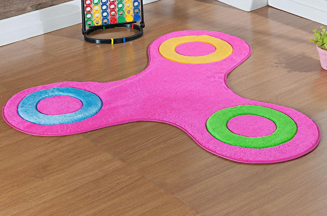 Tapete para Sala e Quarto Infantil  Pink