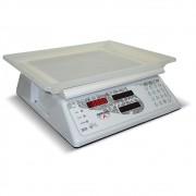 Balança Computadora Ramuza Branca Bivolt 15Kgx5g Led e Serial
