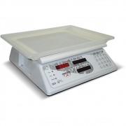Balança Computadora Ramuza Branca Bivolt 30Kgx10g DCR Led com Bateria
