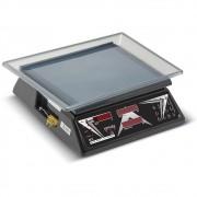Balança Computadora Ramuza Preta Bivolt 15Kgx5g DCR Led com Bateria