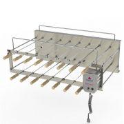 Churrasqueira Rotativa Desmontável Progás 15 Espetos PRRC-150 PLUS