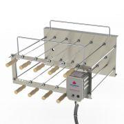 Churrasqueira Rotativa Desmontável Progás 9 Espetos PRRC-90 PLUS