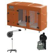 Maquina de Secar Laranja + Secador Maestro e Soprador Maxx Cinza Kyklon