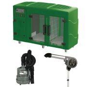 Maquina de Secar Verde + Secador 7000 e Soprador Maxx Cinza Kyklon