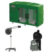 Maquina de Secar Verde + Secador Maestro e Soprador Maxx Cinza Kyklon
