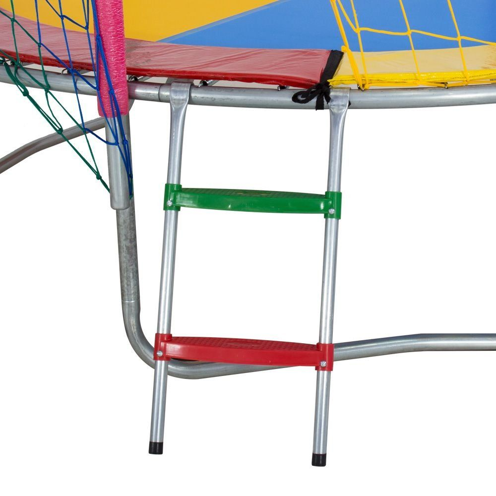 Cama Elástica de 2,44m Lona Colorida 4 cores ChicoPlay