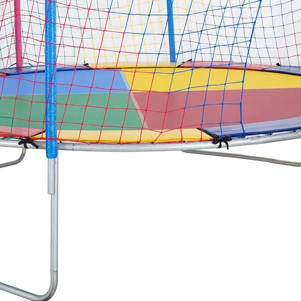Cama Elástica de 3,05m Nacional Lona Colorida 4 cores ChicoPlay