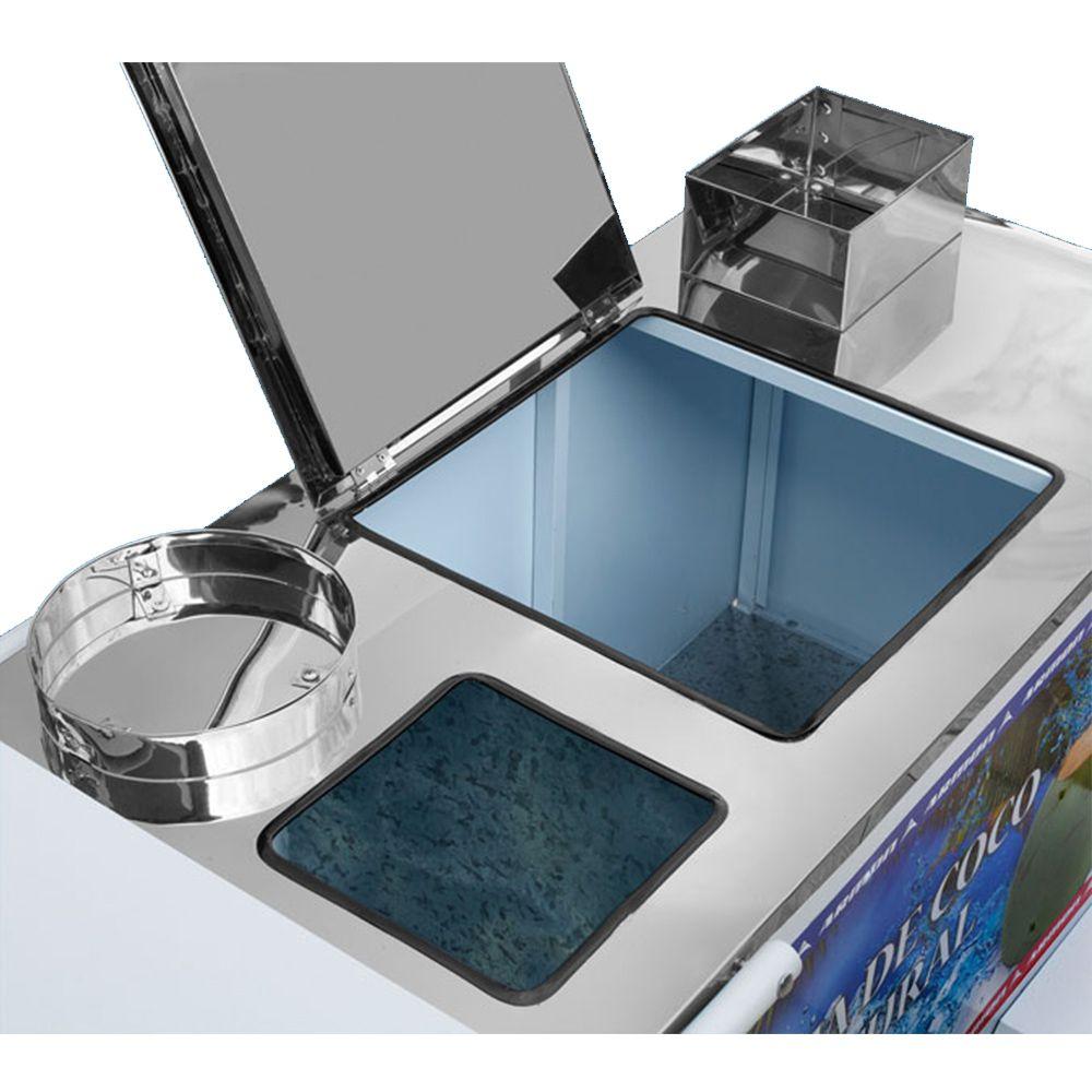 Carrinho de Água de Coco Armon Luxo com Rodas Pneumáticas Aclp 009