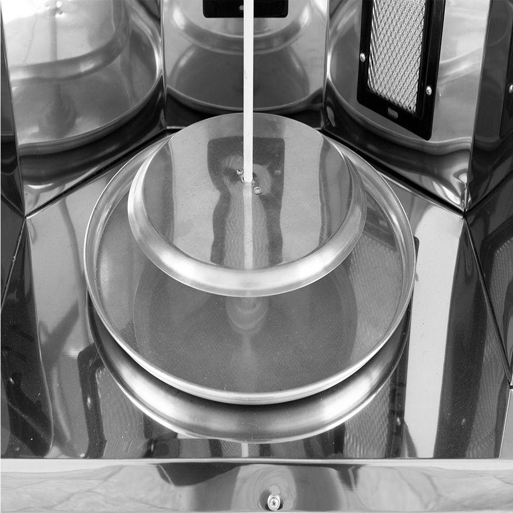 Carrinho de Churrasco Grego Armon com 1 Espeto Manual Ccg1 016