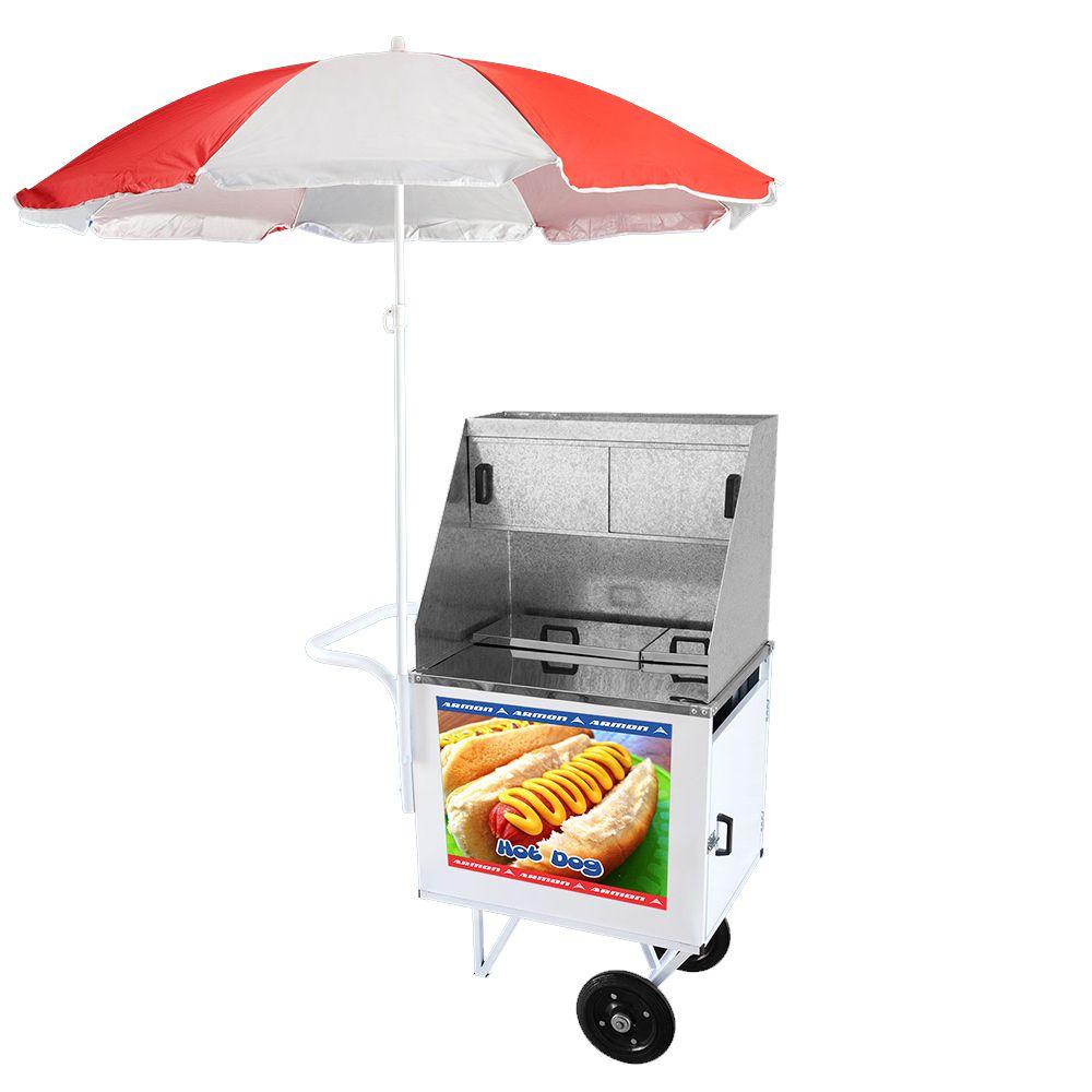 Carrinho de Hot Dog Armon Standard com Rodas Maciças Dsp 006