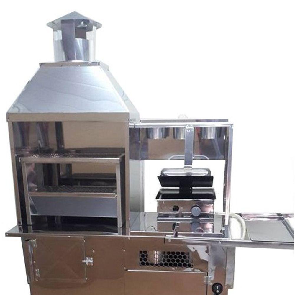 Carrinho de Hot Dog, Lanche e Churrasco R2 3 em 1 66715