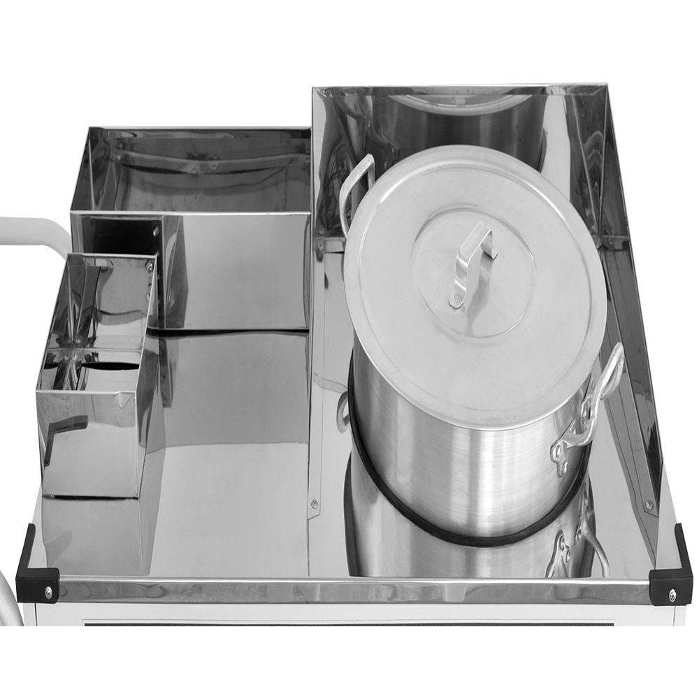 Carrinho de Milho Verde Armon Luxo com Rodas Pneumáticas Mv 027