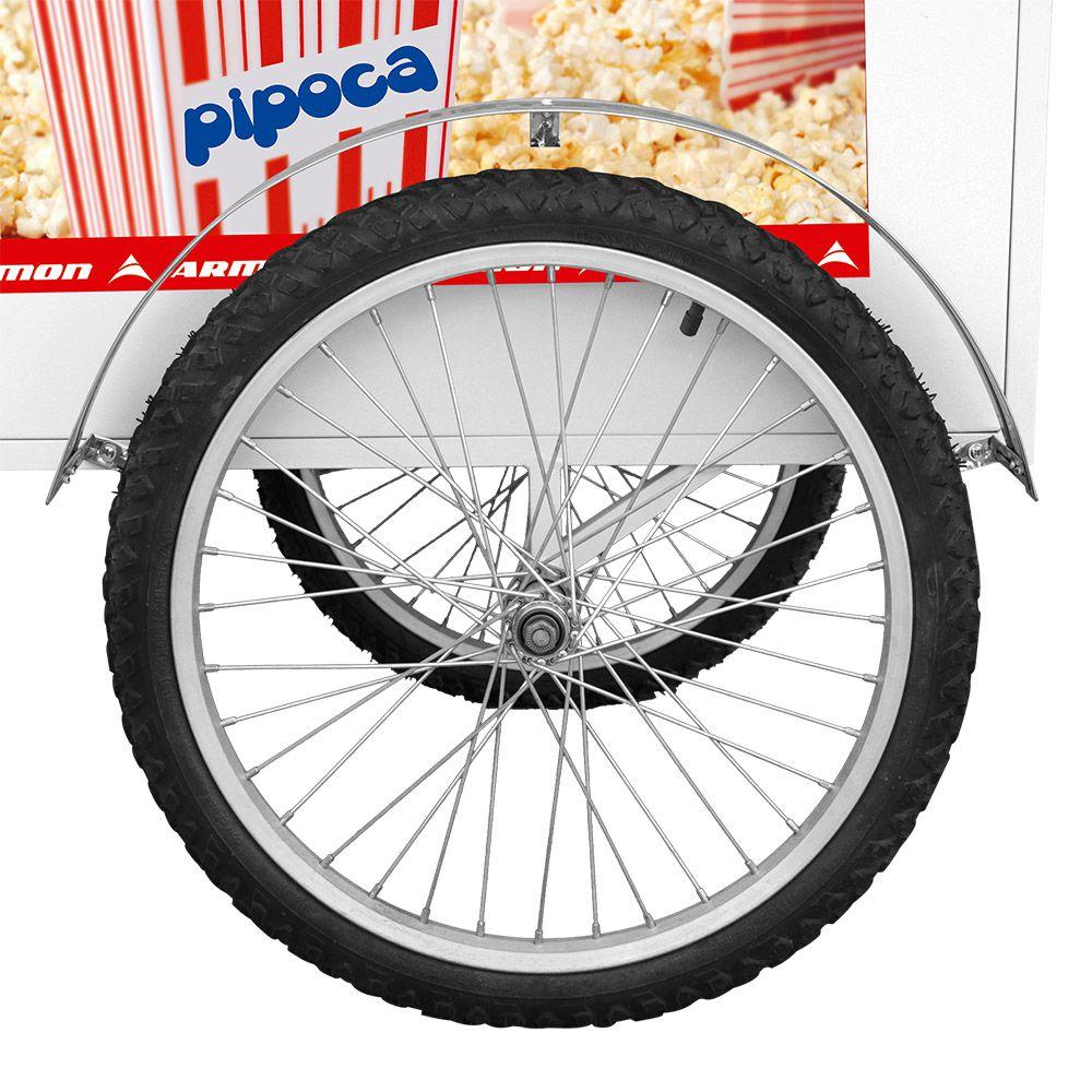 Carrinho de Pipoca Armon Luxo com Rodas de Bicicleta aro 20 Pop 026