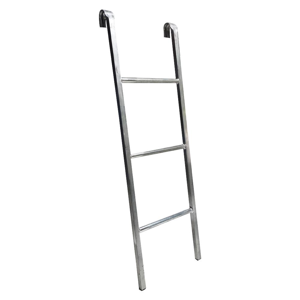Escada de Ferro 1m para Cama Elástica ChicoPlay 3 Degraus