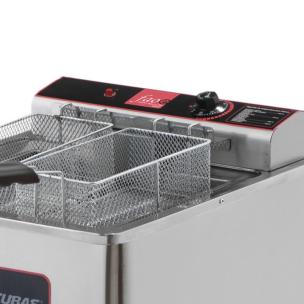 Fritadeira Elétrica Água e Óleo Metalcubas 18 Litros GFAO18P 220V