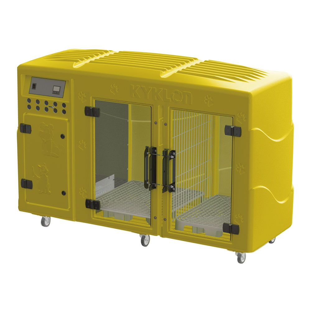 Máquina de Secar Animais Rotomoldada Kyklon Amarela