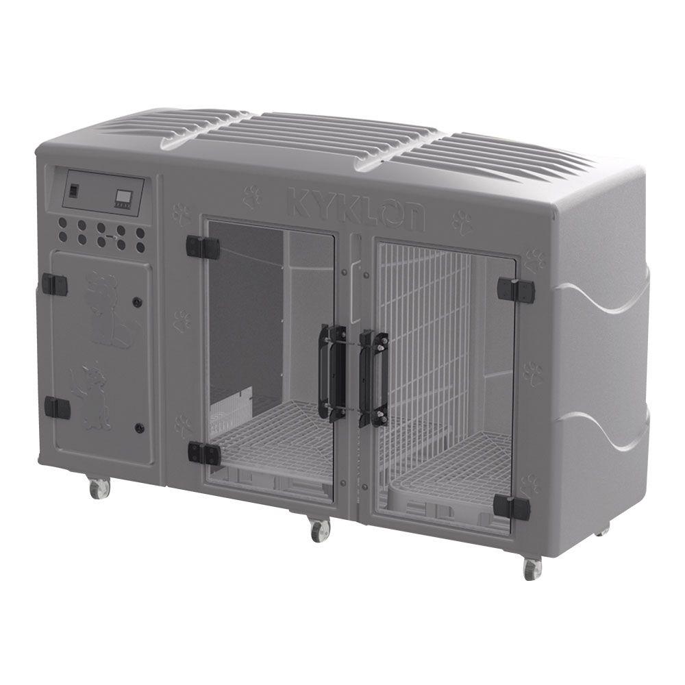 Máquina de Secar Animais Rotomoldada Kyklon Cinza