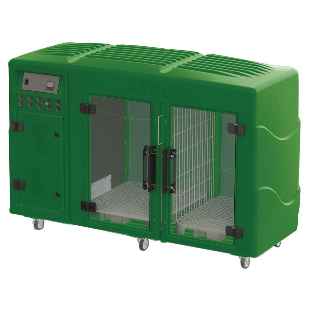 Máquina de Secar Animais Rotomoldada Kyklon Verde