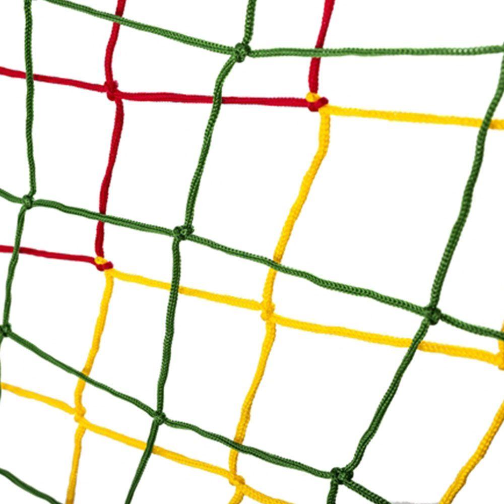 Rede de Proteção Lateral Colorida Alcamar para Cama Elástica de 4,40 m
