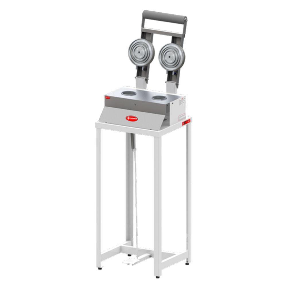 Seladora Dupla Aluminizada para Pote Sulpack com Pedal SPO 150P G2