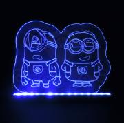 Luminaria LED - Minions