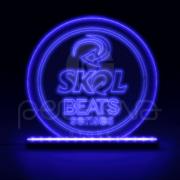 Luminaria LED - Skol Beats