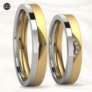 Aliança de casamento - ARTEMIS