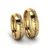 Aliança de Casamento Héstia