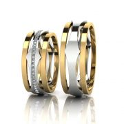 Aliança de Casamento Selene