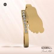 Anel em Ouro 18k - Pezinho