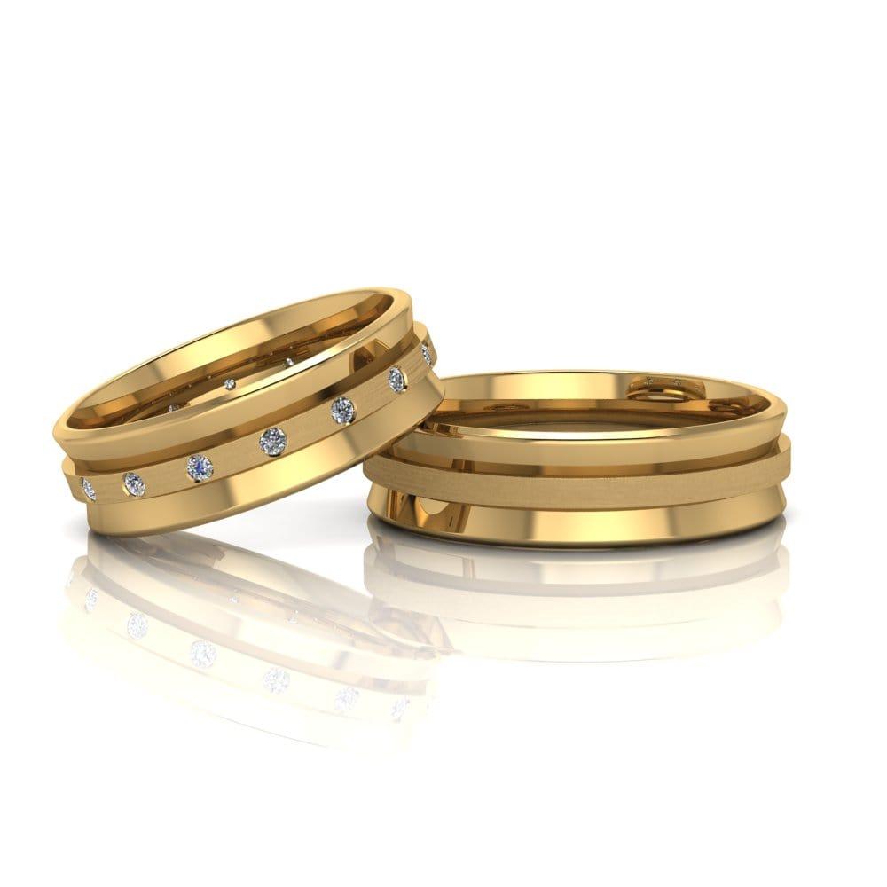 Aliança de Casamento Atena
