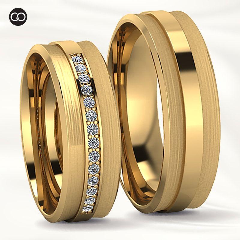 Alianças de casamento - DUO