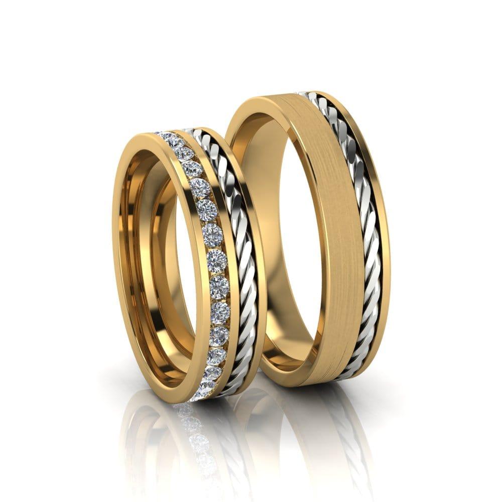 Aliança de Casamento Gaia