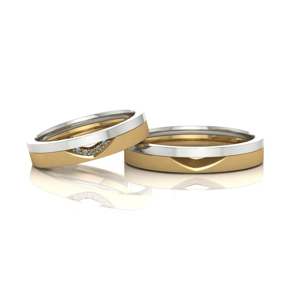 Aliança de Casamento Téia
