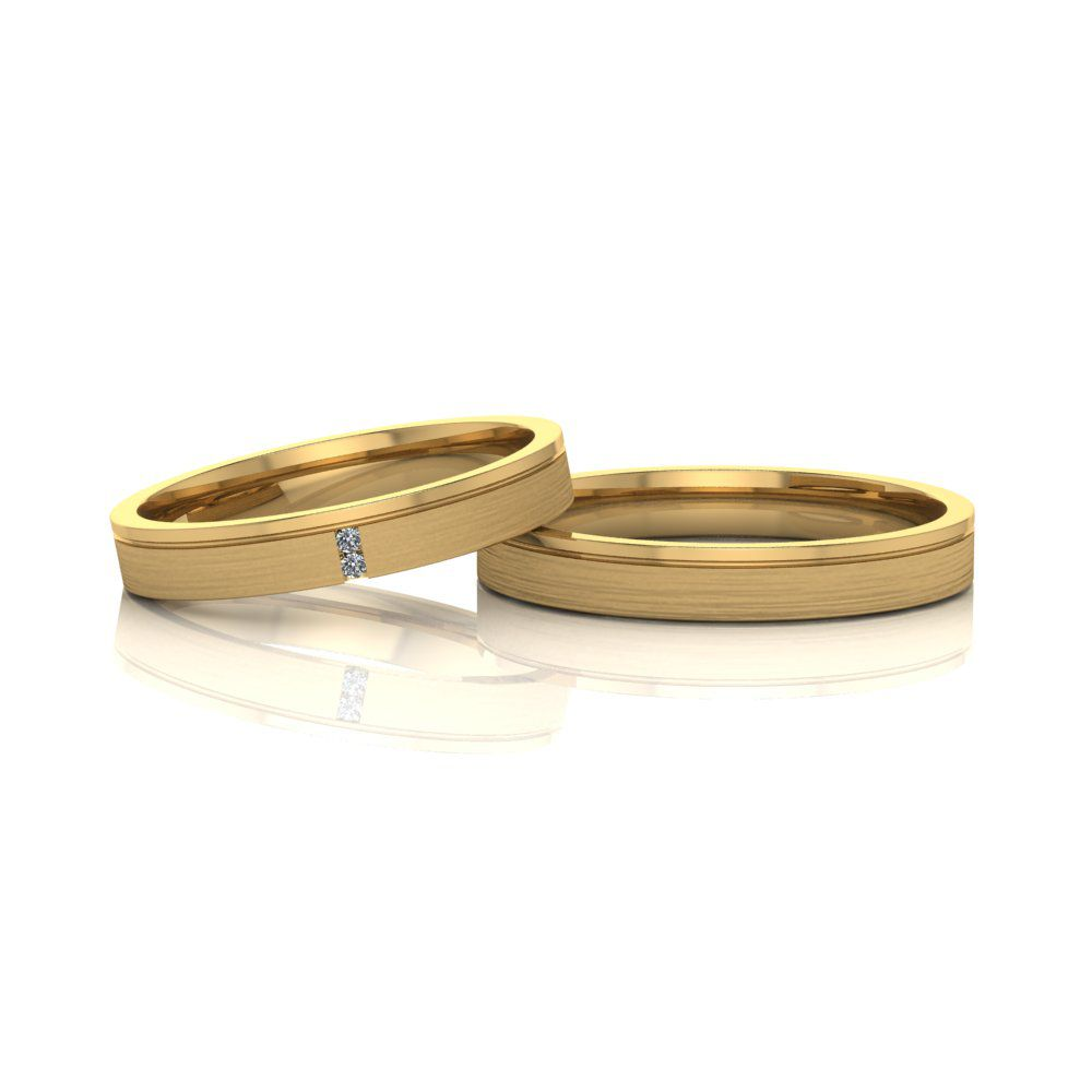 Aliança de Casamento Têmis