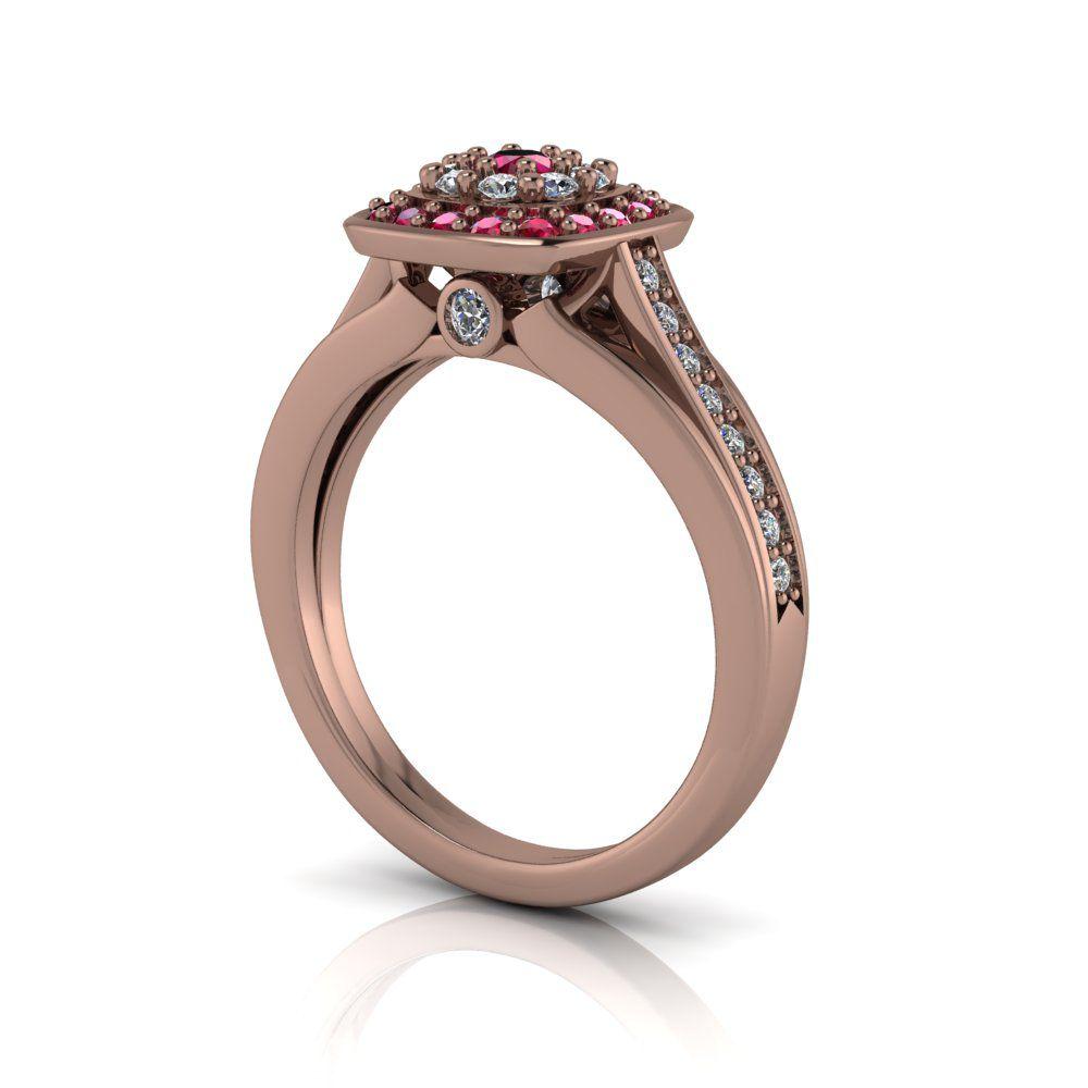 Anel de Formatura Creta Ouro Rosé