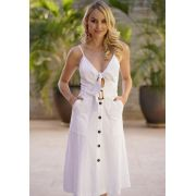 Vestido Diana Branco