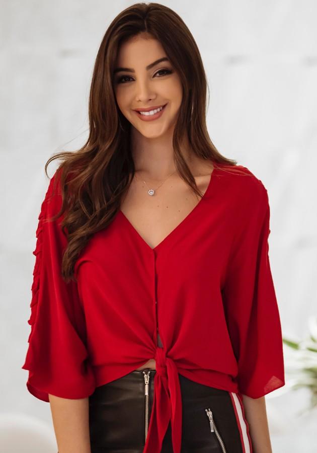 Blusa Barbara Vermelha